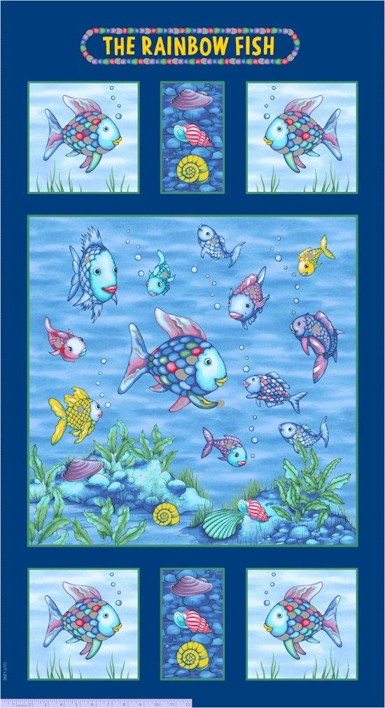 R11 Rainbow Fish Panel 24 inch 9776-0750 Marcus