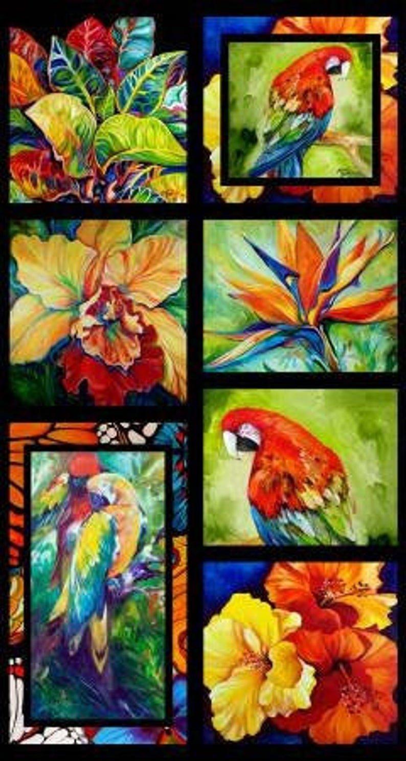 2004 Benartex Rainforest Panel 06860 99