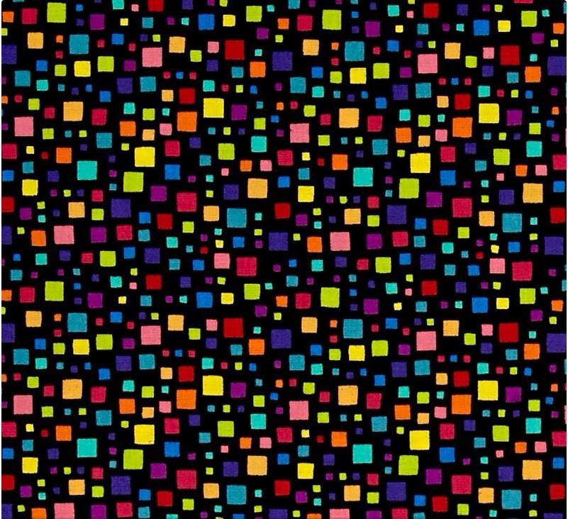 Sweet Tweets A-8358-K1 black background
