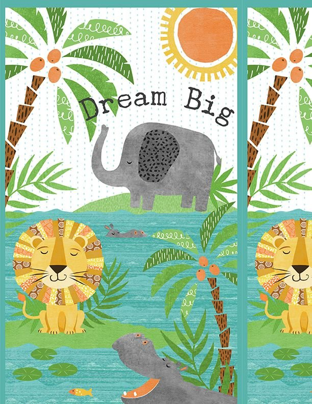 2002 Dream Big PANEL 68524 Color 417