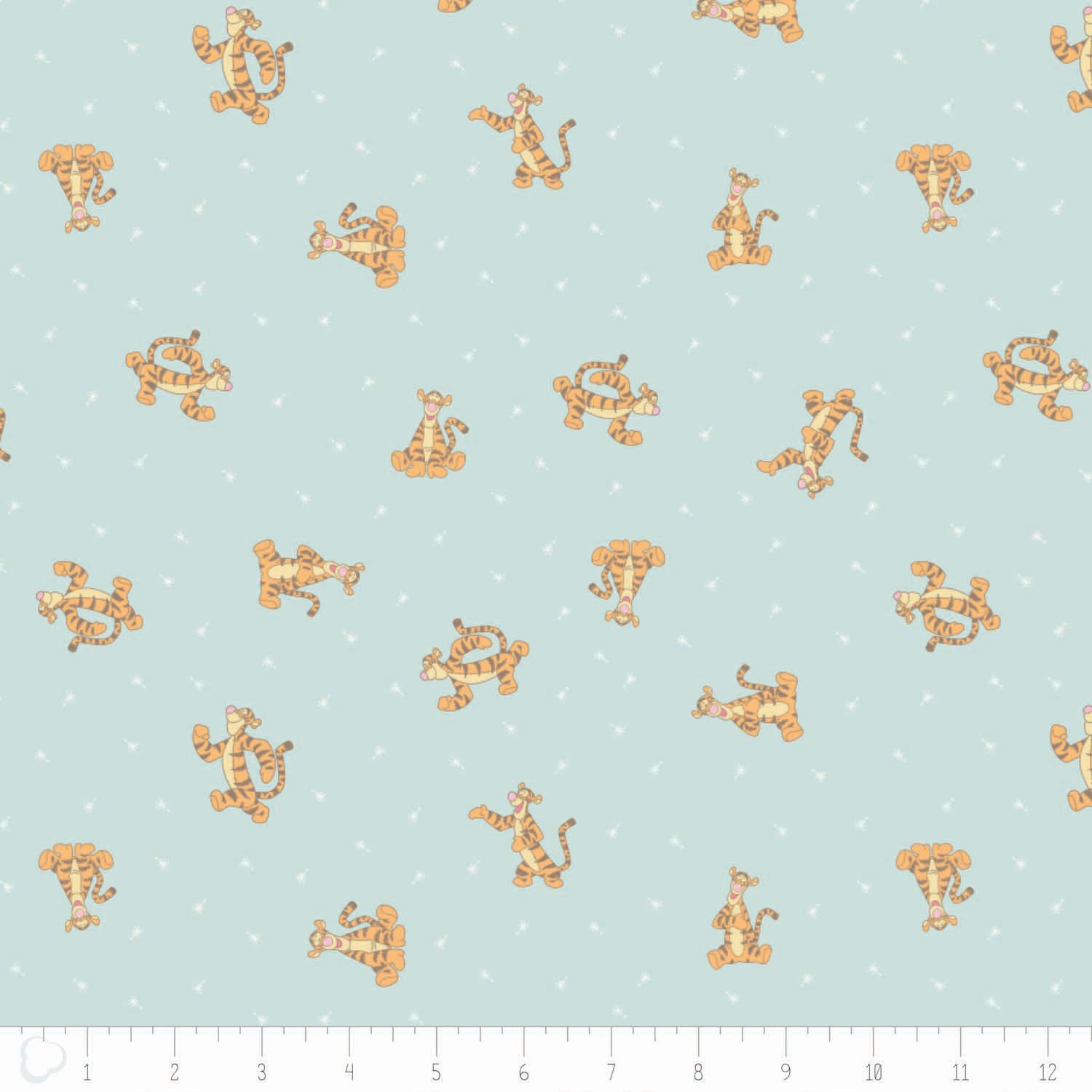 Winnie the Pooh Collection by Camelot Designs - Disney - Tigger in Light Blue