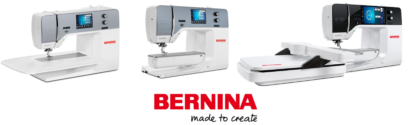 BERNINA 7 series machines