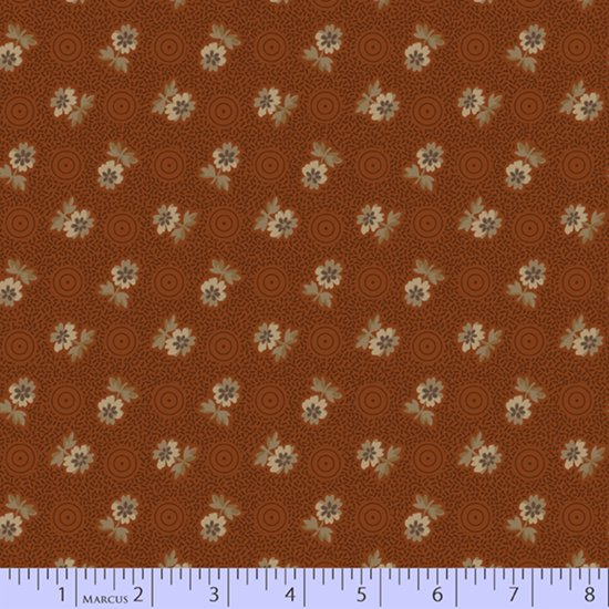 Rust - Cheddar Blossom - Chocolate and Cheddar by Pam Buda - R17-0731-0129