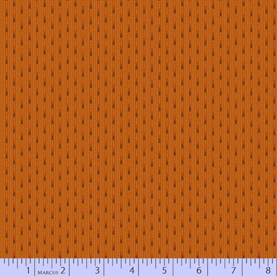 Pumpkin - Dotted Daisies - Chocolate and Cheddar by Pam Buda - R17-0735-0128