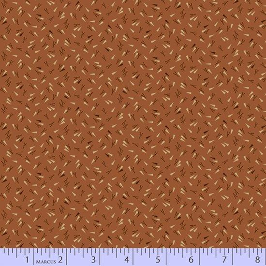 Rust - Dashing Around - Chocolate and Cheddar by Pam Buda - R17-0739-0129