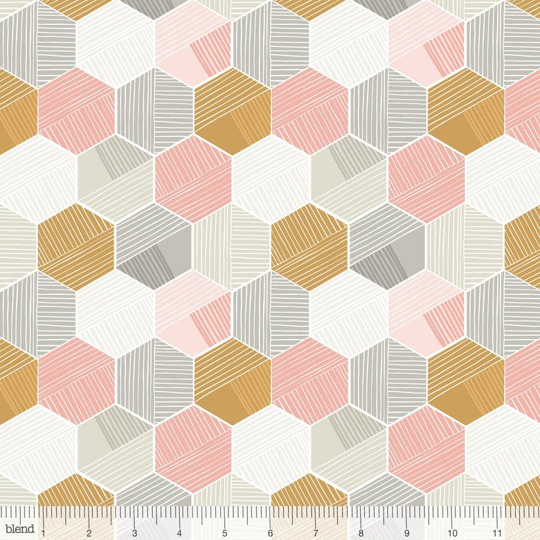 Pink Sweet Dreams Honeycomb - Maude Ashbury - 101.130.04.1