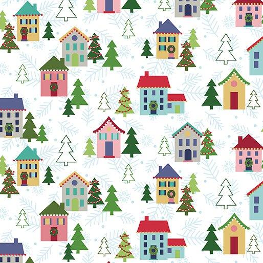 White - Christmas Village - Better Not Pout by Nancy Halvorsen - 10170-09