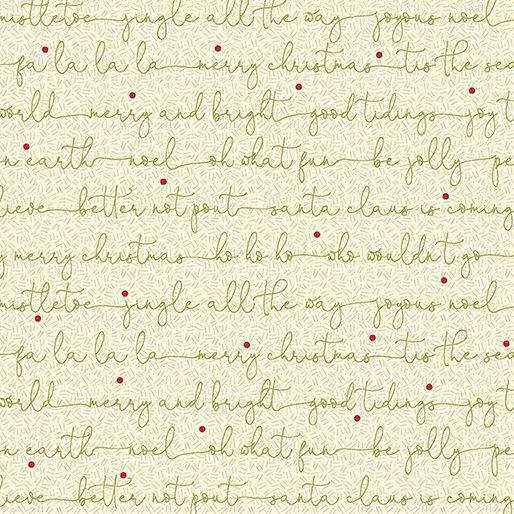 Cream - Christmas Carols - Better Not Pout by Nancy Halvorsen - 10179-07