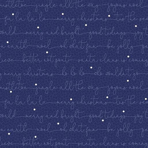Navy - Christmas Carols - Better Not Pout by Nancy Halvorsen - 10179-11