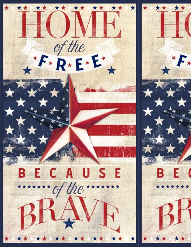 Home of the Brave Panel - American Valor - 1031-84426-234