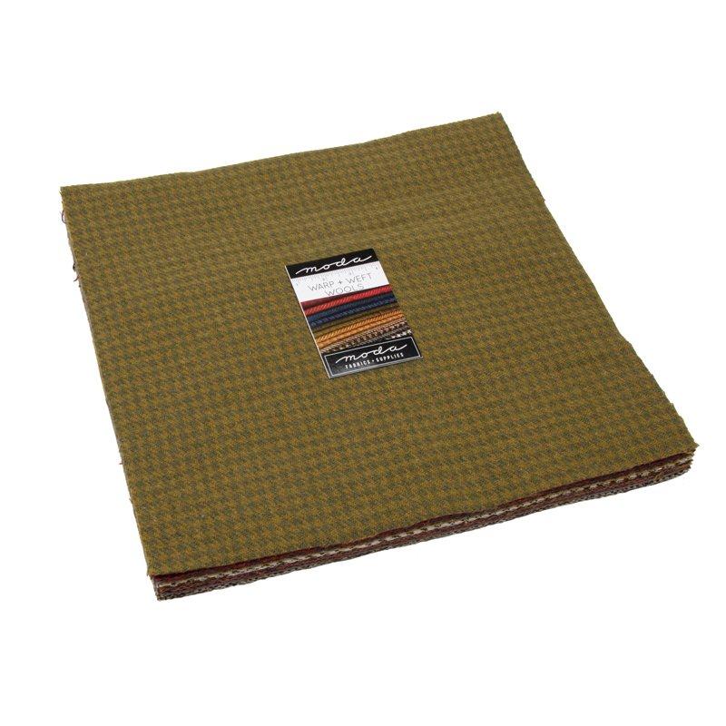12 Warm - 100% Wool Layer Cake - 54810LCW