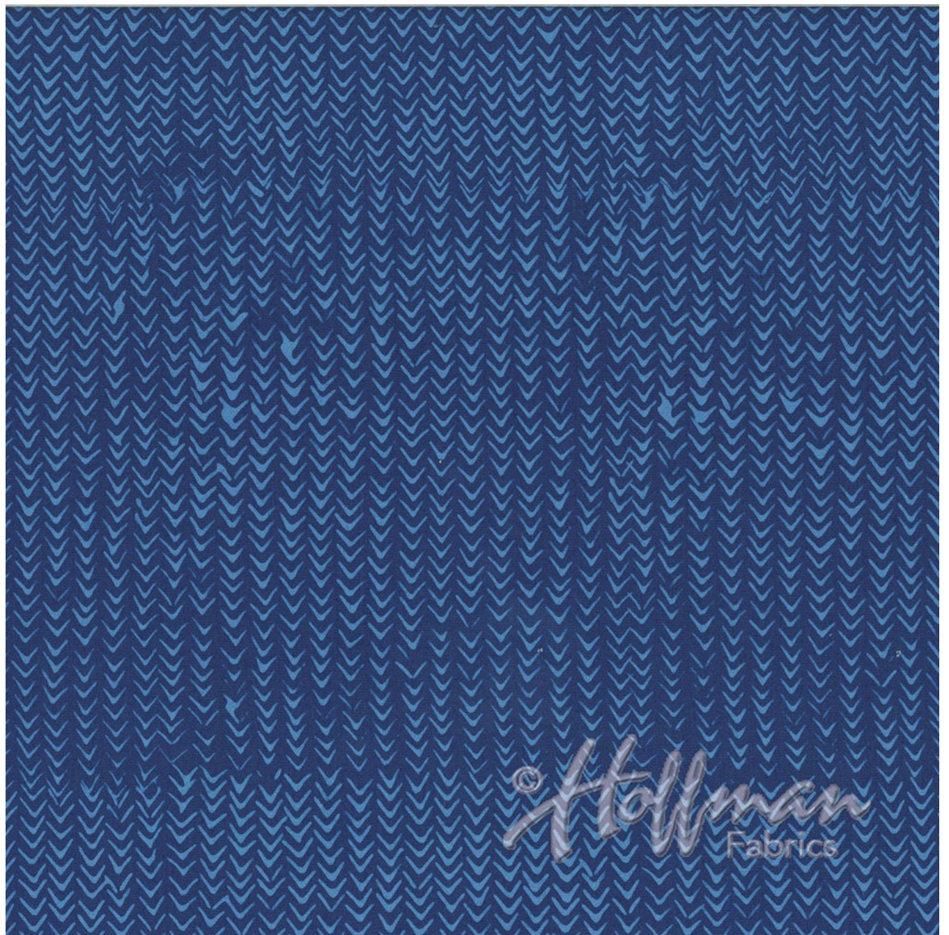 Arrows Iris - Hand Dyed Batiks - Me + You Hoffman Fabrics 128-40