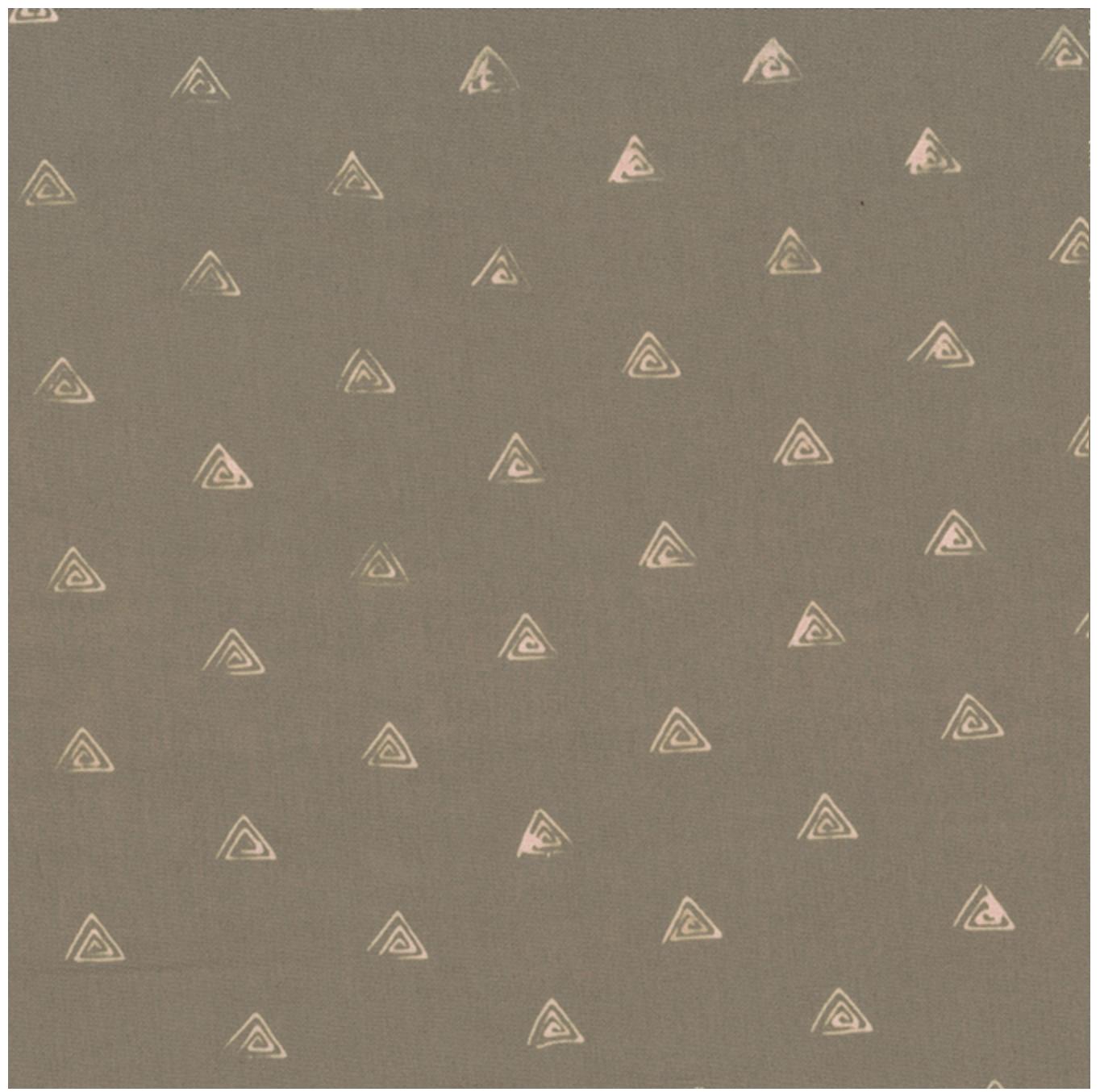Triangles Beachsand - Hand Dyed Batiks - Me + You Hoffman Fabrics 131-544