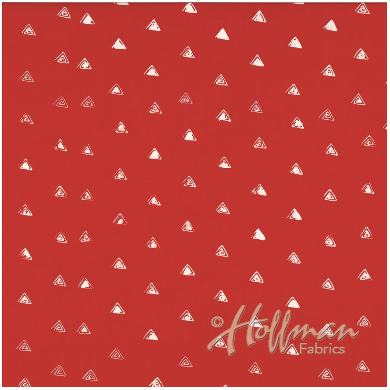 Triangles Flair - Hand Dyed Batiks - Me + You Hoffman Fabrics 131-615