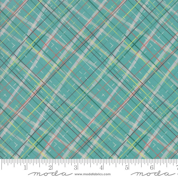 Evergreen -  Cross Plaid - Tahoe Ski Week - 13343 15