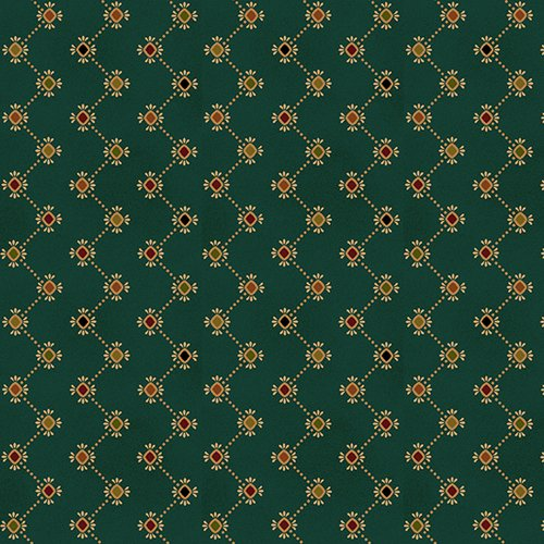 Teal Zigzag Stripe - Wit and Wisdom by Kim Diehl - Q-1421-70