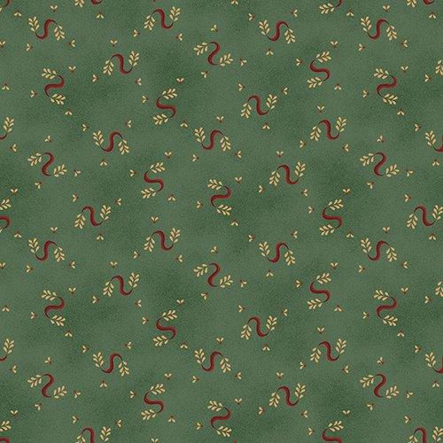 Turquoise Serpentine Swirls - Wit and Wisdom by Kim Diehl - Q-1422-11
