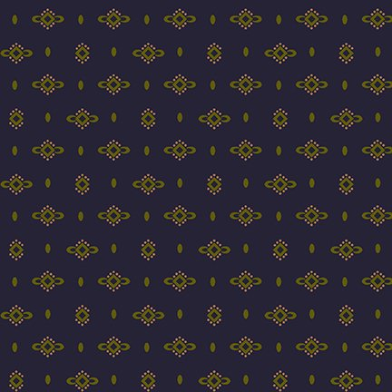 Navy Dotted Diamond - Wit and Wisdom by Kim Diehl - Q-1426-77