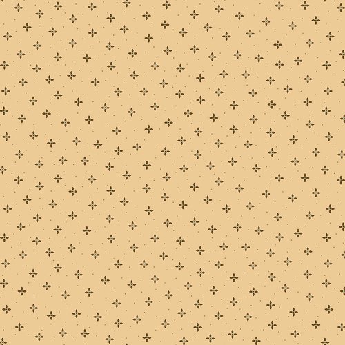Cream Geometric Petals - Wit and Wisdom by Kim Diehl - Q-1428-44