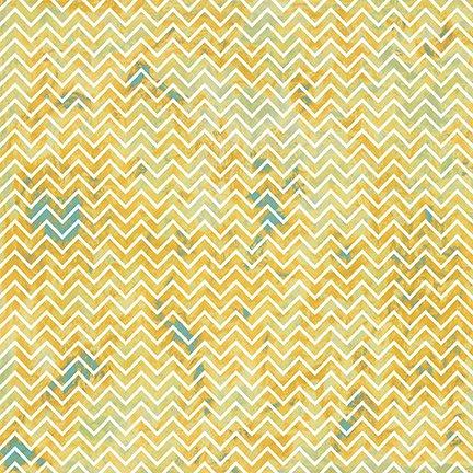 Gold Textured Chevron - Ain't Life a Hoot - Q1486-44