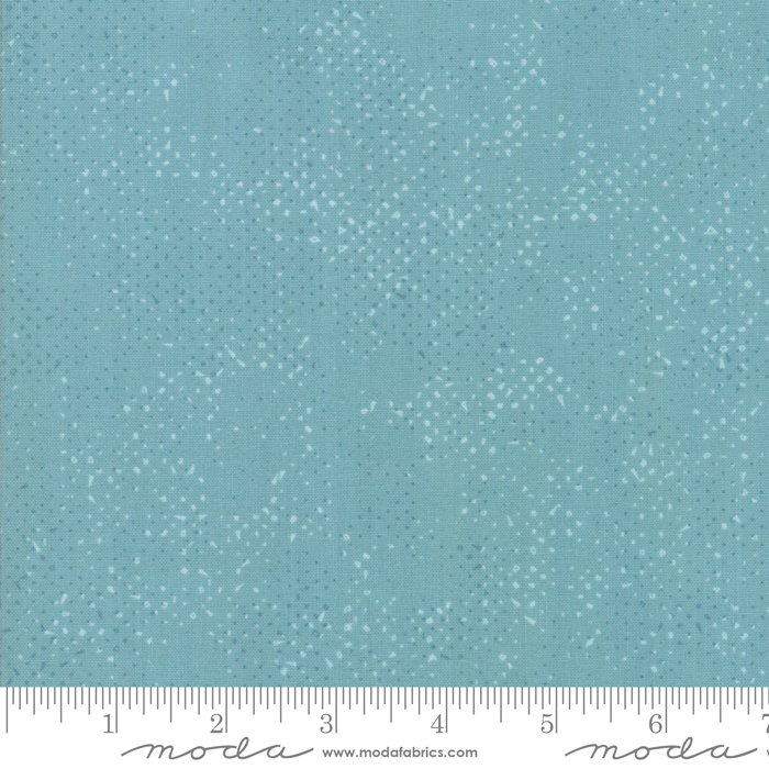 Dusty Teal - Spotted - 1660-77
