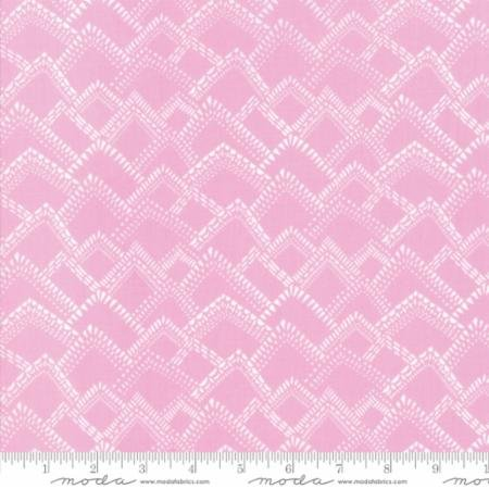 Pink Mist Yucatan by Annie Brady - Moda - 16716 14