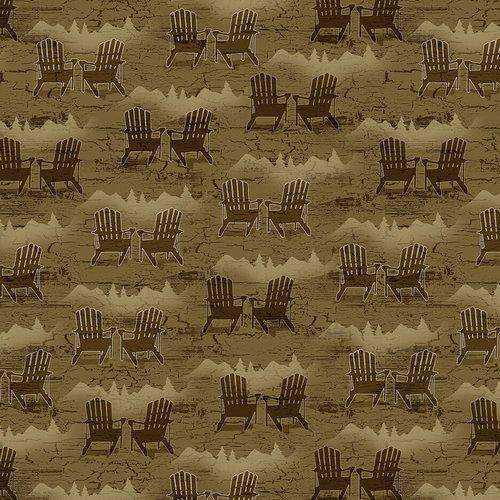 Brown - Adirondack Chairs - Twilight Lake - 1694-33