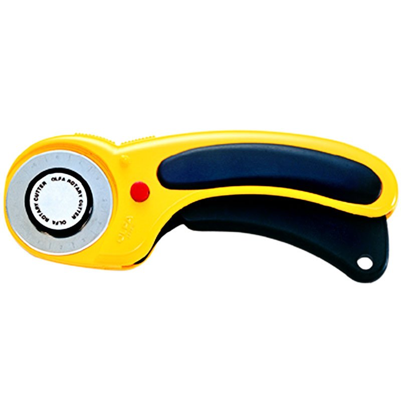 Deluxe 45MM Olfa Ergo Rotary Cutter - 9654 RTY2 DX