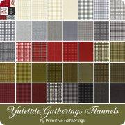 Yultide Gatherings Flannel by Primitive Gatherings<