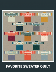 My Favorite Sweater Quilt Kit
