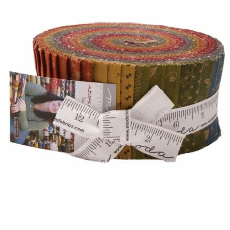 Flower Garden Gatherings Jelly Roll by Primitive Gatherings - 1240JR
