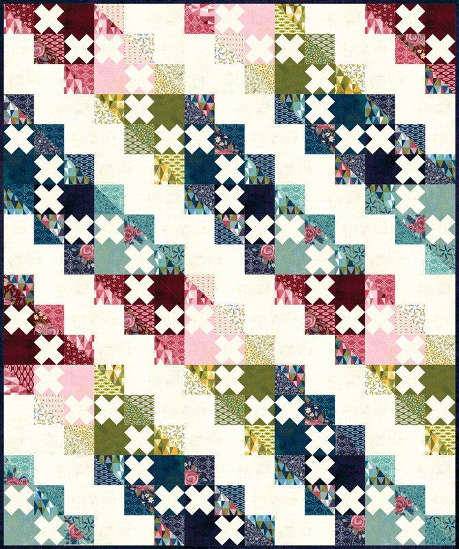 Pre-Order - Nova Quilt Kit by BASICGREY - 61 x 73 - KIT30580