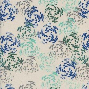 Raindrop by Rashida Coleman-Hale Puddle Jump Sea - Cotton & Steel - 1941 001
