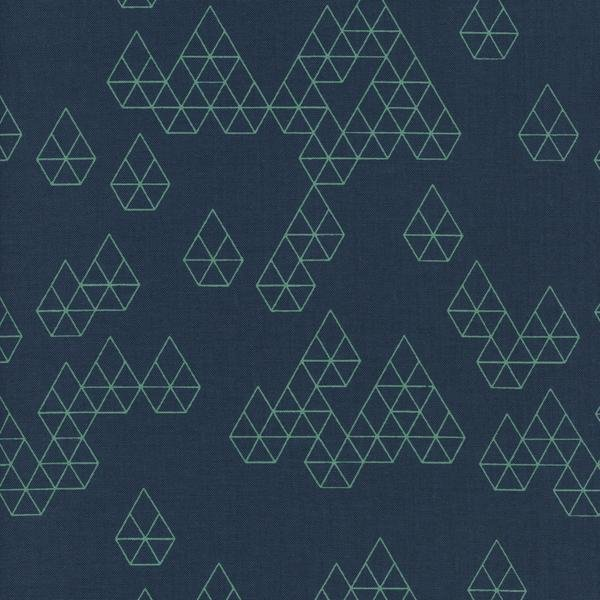 Raindrop - Rashida Coleman-Hale  - Geodrops - Teal - 1943 001
