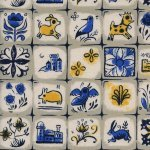 From Porto With Love - Sarah Watts - Pastry Shop - Neutral - Cotton & Steel - 2033 001