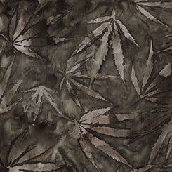 Quilting Treasures Cannabis Black 24913K