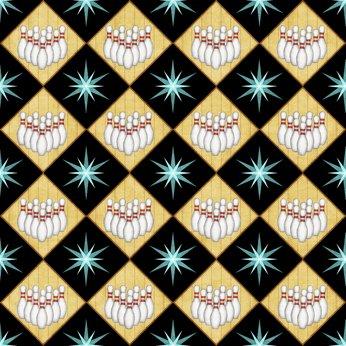 Black - Bowling Diamond - Bowl-A-Rama - 26703 J
