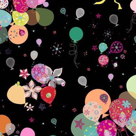 Black - Bunch of Balloons - Let's Celebrate - 26902J