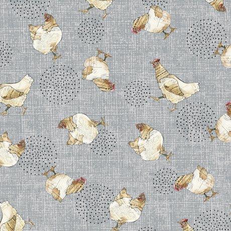 Gray - Chickens - Farm Life by Christine Andersen - 27678-K