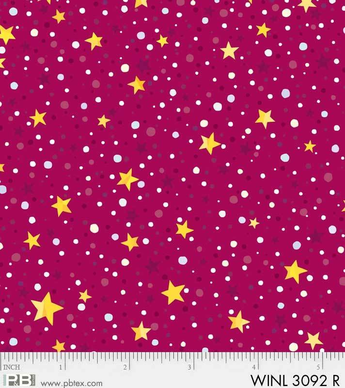 Red - Star Dot - Winter Lights by Susan Rooney - 3092R