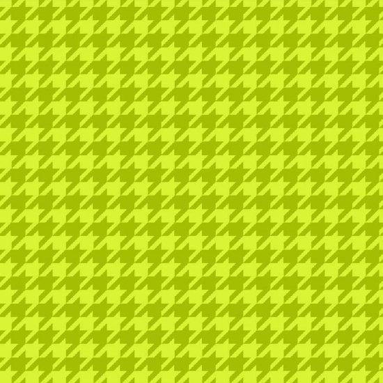 YellowLight  Green Houndstooth - Local Flannel - Studio E - 3770-64