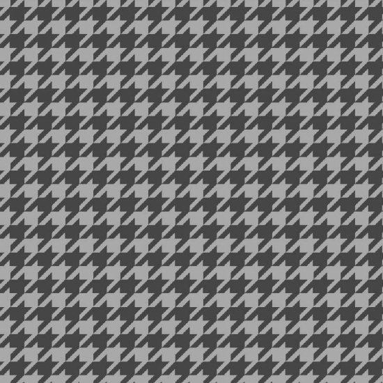 Dark Gray Light Gray Houndstooth - Local  Flannel - Studio E - 3770-94