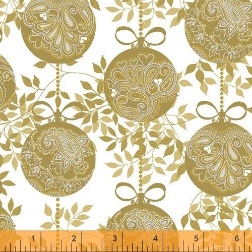 Gold - Holiday Ornaments - Holiday Village - 40301AM-1
