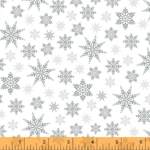 Silver - Holiday Snowflakes - Holiday Village - 40302AM-2