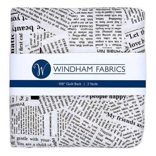 Newsprint - Wideback - 3 yards - 108 wide - 41946-PC4