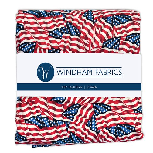 Flags by Whistler Studios - Wideback - 3 yards - 108 wide - 42465-PCX