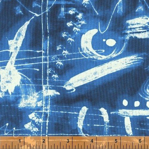 Blue Map - Treasure Hunt  by Marcia Derse - 43185-2
