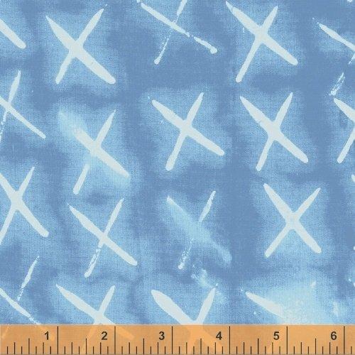 Light Blue X Marks the Spot - Treasure Hunt  by Marcia Derse - 43188-12