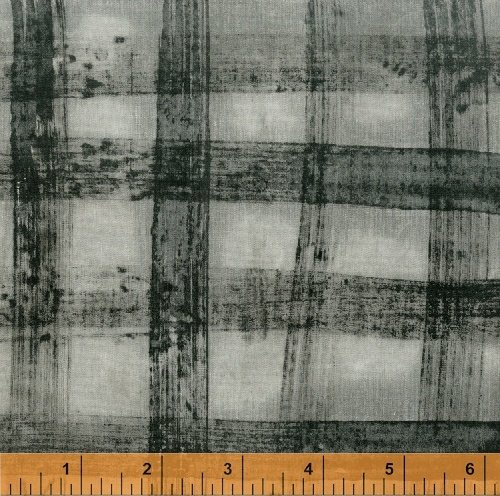Black Lt Gray Plaid - Treasure Hunt  by Marcia Derse - 43192-24