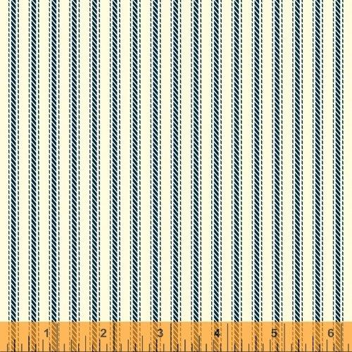 Navy Ticking Stripe - Homestead Life by Judy Jarvi - 51524-7